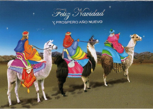 Happy New Year from Peru
